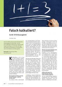 Falsch kalkuliert - M. Thun