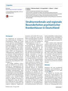Strukturmerkmale und regionale Besonderheiten psychiatrischer Krankenhäuser in Deutschland - A. Senkal_page-0001
